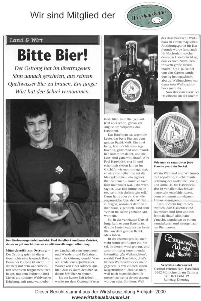 Wirtshauszeitung